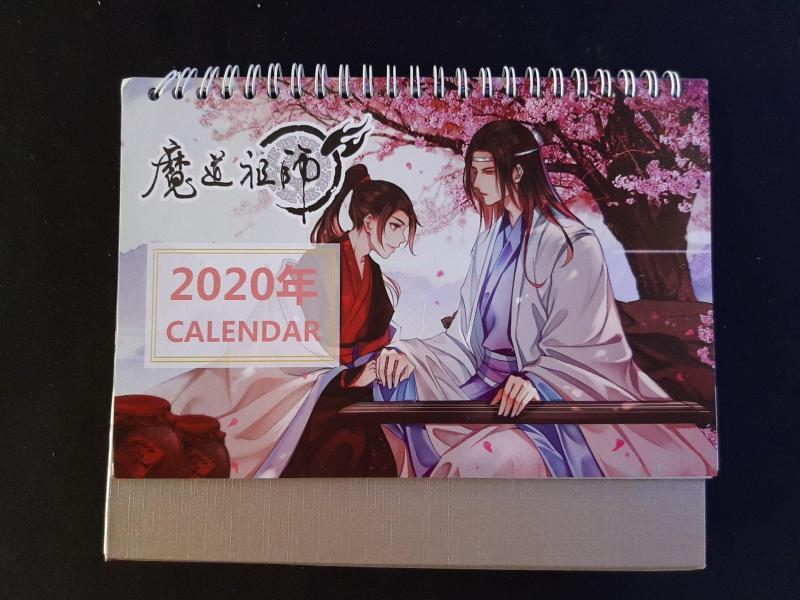 Lịch để bàn Anime 2020 Nhiều mẫu - Kimetsu no yaiba - Baystore