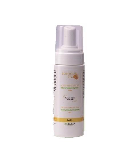 Bọt rửa mặt và tẩy trang hữu cơ Bonjour Bio