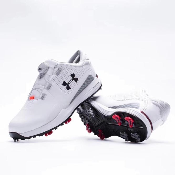 giầy golf nam UA new 2020 shop golf hồng nhung giá rẻ