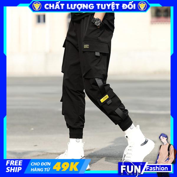 Quần jogger thể thao nam kaki mã TT46 thô túi hộp kiểu bó ống Hàn Quốc chất vải đẹp ống dài