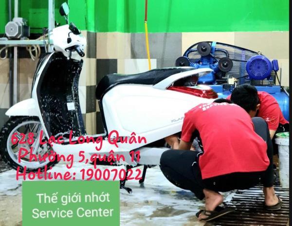 NEW-Dịch vụ rửa xe máy CHUYÊN NGHIỆP tại TPHCM- COMBO 10 LẦN SỬ  DỤNG