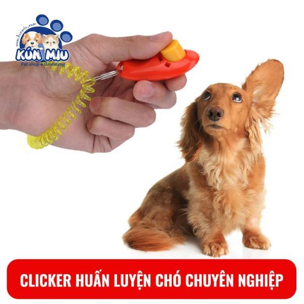 Clicker huấn luyện chó chuyên nghiệp Kún Miu