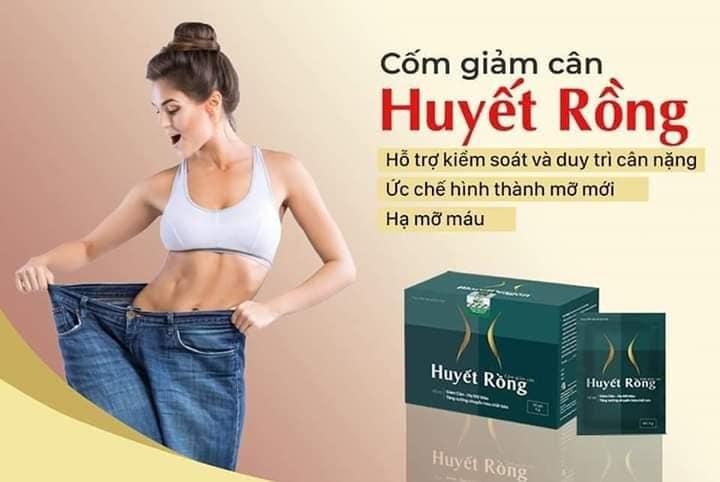 Cốm giảm cân Huyết rồng-Hỗ trợ tăng cường chuyển hóa chất béo, hỗ trợ giảm béo nhập khẩu