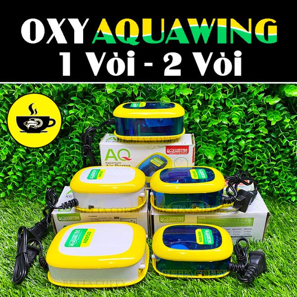 Máy sục khí oxy Aquawing Thời Trang 2 màu  Tặng Dây + Sủi - XEM KĨ PHÂN LOẠI