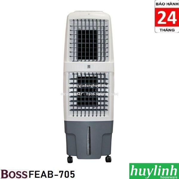 Bảng giá Quạt - Máy làm mát không khí Boss FEAB-705G - Made in Thái Lan - Tặng vợt muỗi MSH-021