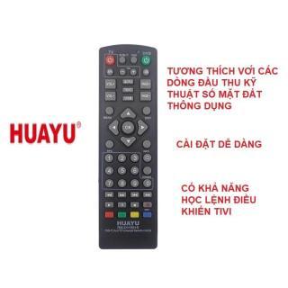 Remote điê u khiê n đâ u thu ky thuâ t sô mă t DVB-T2 đa năng RM-D1155+6 thumbnail
