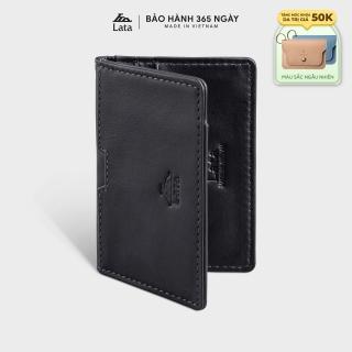 Ví da thật mini đựng tiền đựng thẻ LATA LVN75 thumbnail