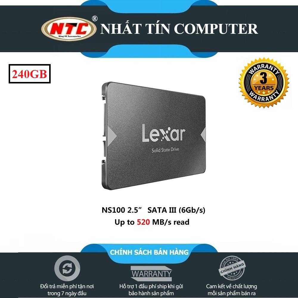 SSD 240GB LEXAR NS100