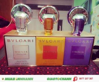 Bộ nước hoa 3 chai cao cấp thơm lâu BVL thumbnail