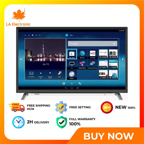 Bảng giá Trả Góp 0% - Smart Tivi Toshiba 43 inch 43L5650 - Miễn phí vận chuyển HCM
