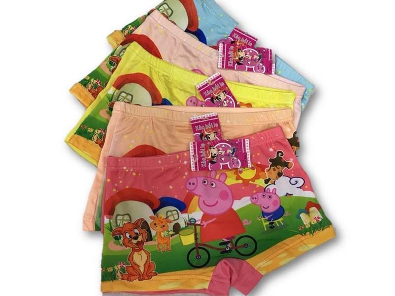 Giá bán Set 10 quần đùi in hình hoạt hình dễ thương (10 cái)