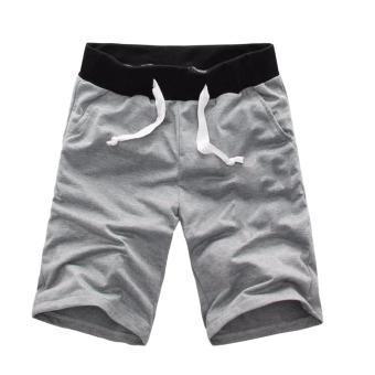 quần short thun cotton nam đẹp co giãn tốt, thoáng mát