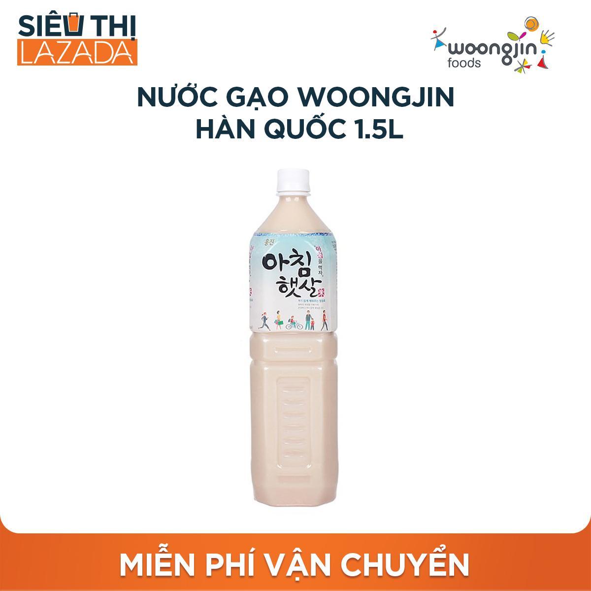 Nước gạo Woongjin Hàn Quốc 1.5L