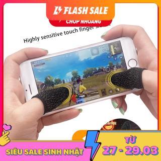Combo 2 Bao Ngón Chơi Game Mobile Chống Mồ Hôi Tay, găng tay cảm ứng chống mồ hôi, gang đeo ngón tay chống mồ hôi, gang tay cảm ứng điện thoại, bao ngón tay cảm ứng chống mồ hôi, bao tay chống mồ hôi thumbnail