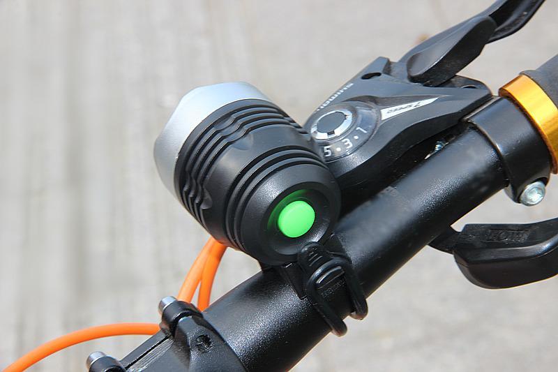 Đèn led pha 3 chế độ siêu sáng nhỏ gọn tiện dụng , chống nước cho xe đạp C010 ERIK Nhật Bản