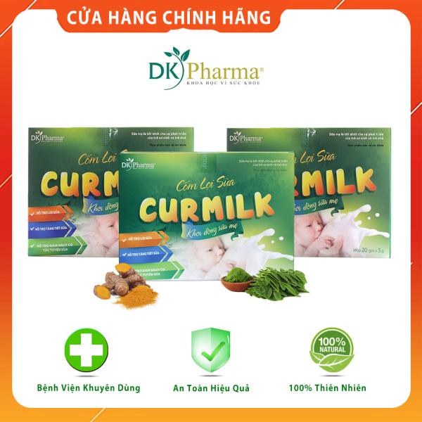 [Combo 3 Hộp] Cốm lợi sữa thảo dược Curmilk - Kích sữa, chống tắc sữa, sữa dạt dào, bé bú no nê