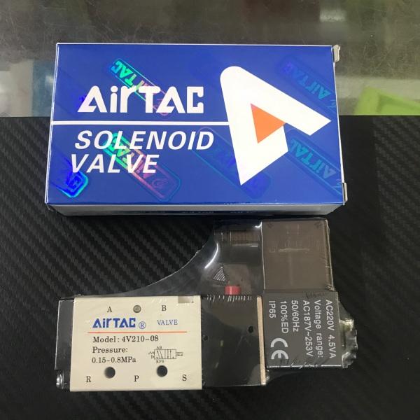 Van Điện Từ Khí Nén AIRTAC 4V210-08