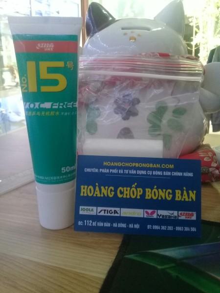 Keo sữa DHS 50ml ( tặng kèm mút )