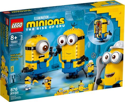 LEGO Đồ Chơi Lắp Ráp Phòng Chứa Bí Mật Của Minions 75551 Siêu Ưu Đãi tại Lazada