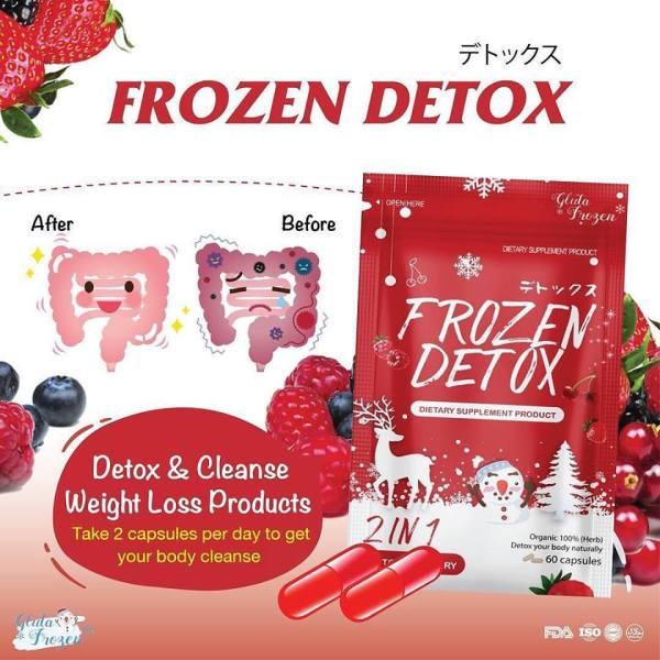 Giảm cân tan mỡ từ Hoa quả trái cây Frozen Detox cho mọi cơ địa