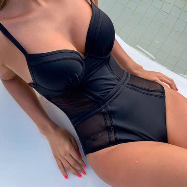 [BIKINI LIỀN MẢNH BÁN CHẠY] Bikini, đồ bơi 1 mảnh có GỌNG phối lưới