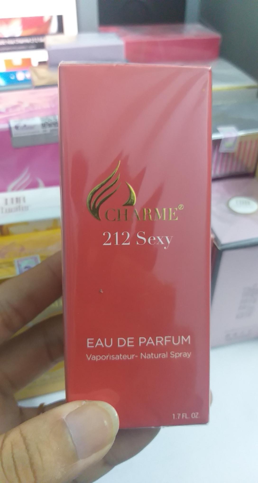 Nước Hoa Unisex Charme 212 Sexy 50ml