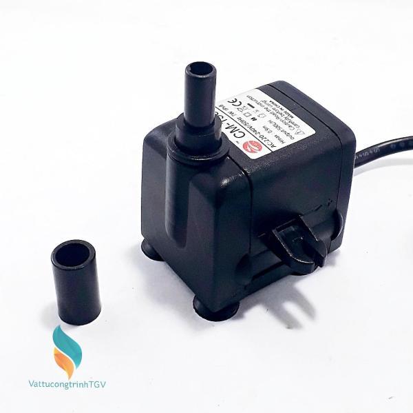 Bơm chìm mini CM-138 220v-7w cho bể cá, quạt hơi nước