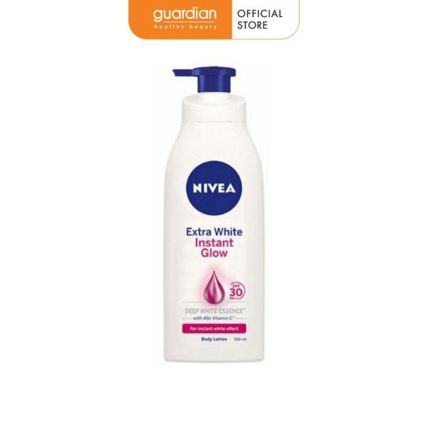 Sữa dưỡng thể sáng da tức thì Nivea White Instant Glow 350ml nhập khẩu