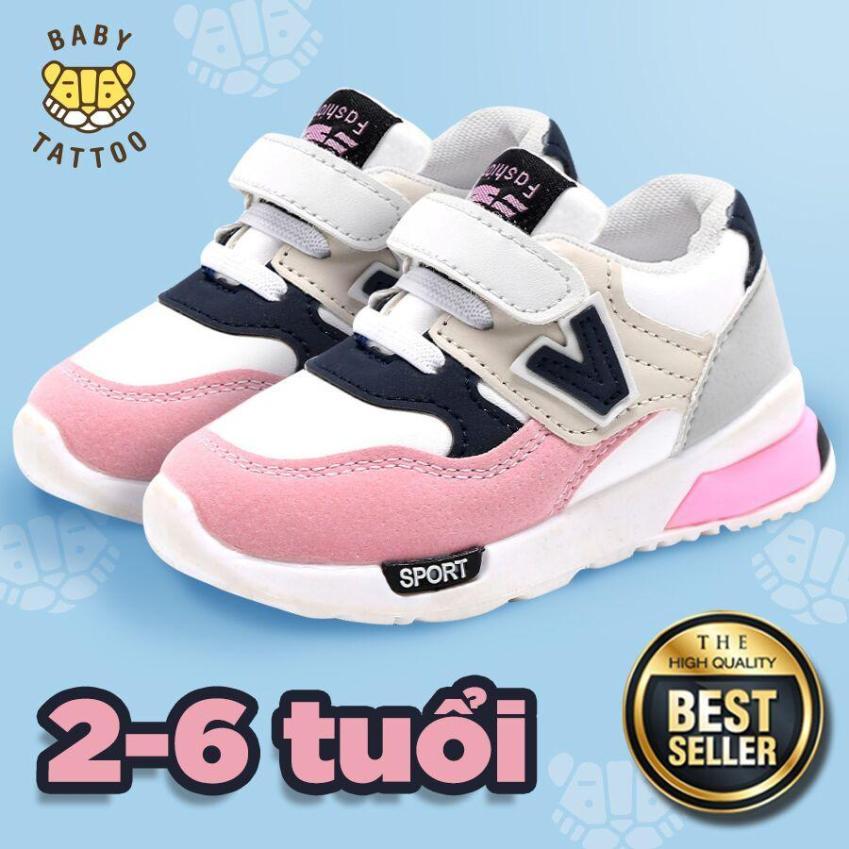 BABY TATTOO Giày Thể Thao  trẻ em HOT dành cho  bé trai/bé bái Kiểu Hàn Quốc - thời trang cho các bé 2-3-4-5-6 Tuổi giá rẻ