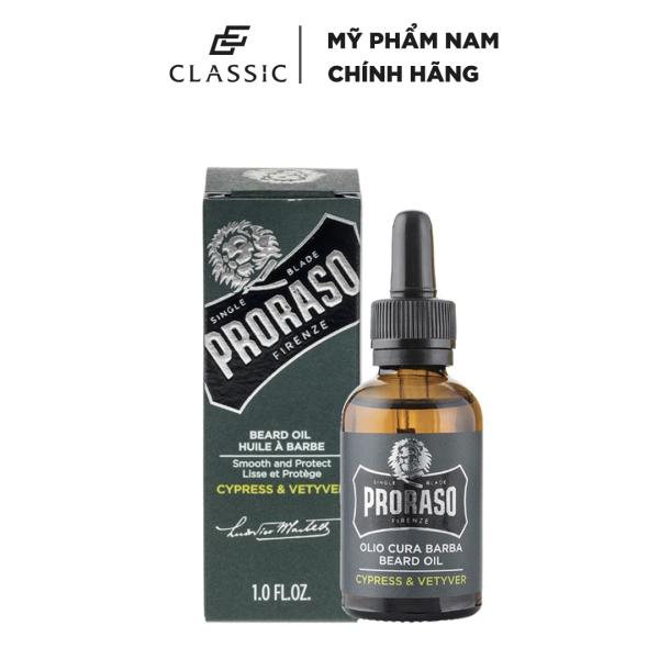 Dầu Dưỡng Râu Proraso Beard Oil Cypress & Vetyver 30ml