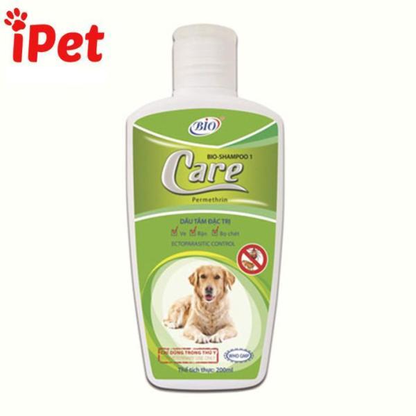 [Lấy mã giảm thêm 30%]Sữa Tắm Đặc Trị Ve Rận Bọ Chét Cho Chó Mèo - Bio Care - iPet Shop