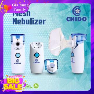 Máy xông mũi họng điện dung CHIDO - Công nghệ Nhật Bản, Sản Phẩm hỗ trợ điều trị hiệu quả các bệnh về đường hô hấp viêm mũi, viêm họng, viêm phế quản, hen suyễn thumbnail