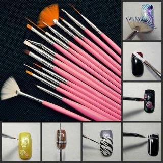 Set 15 bút vẽ móng - cọ vẽ móng tay chuyên nghiệp thumbnail