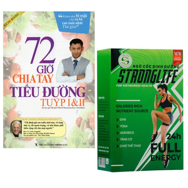 Mua Sản phẩm tốt cho người tiểu đường: Sách 72 giờ chia tay tiểu đường , Bột ngũ cốc dinh dưỡng ca cao Stronglife Long Liên