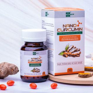 Nano Curcumin OIC (viên nang), hỗ trợ giảm các triệu chứng viêm loét dạ dày thumbnail
