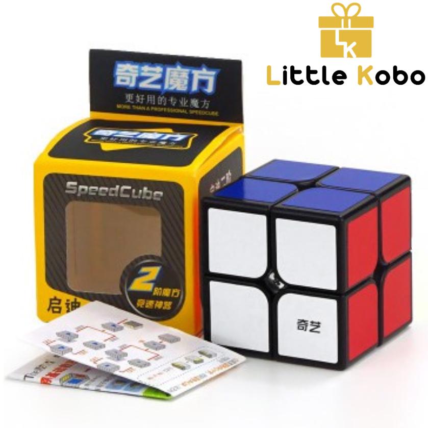 [HCM]Rubik 2x2 Qiyi Rubik 2 Tầng QiDi Khối Lập Phương Rubik