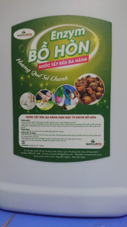 Giá Quá Tốt Để Mua Nước Tẩy Rửa đa Năng Enzym Bồ Hòn (0.8l)