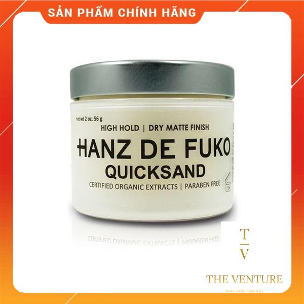Sáp Vuốt Tóc Nam Hanz De Fuko Quicksand Chính Hãng USA - 56 Gram