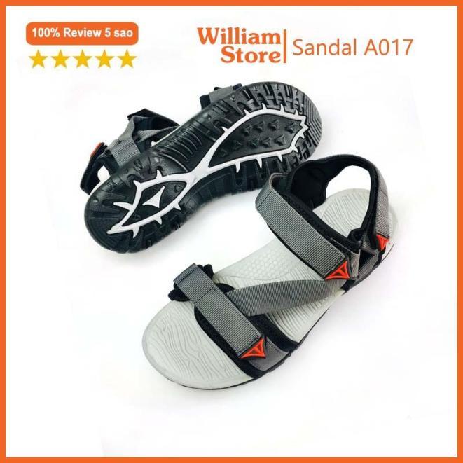 (Đủ size 34 - 43) Giày SANDAL quai hậu nam William kiểu dáng thời trang - A017 giá rẻ