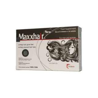 Thực phẩm chức năng MAXXHAIR hỗ trợ mọc tóc, ngăn ngừa rụng tóc thumbnail