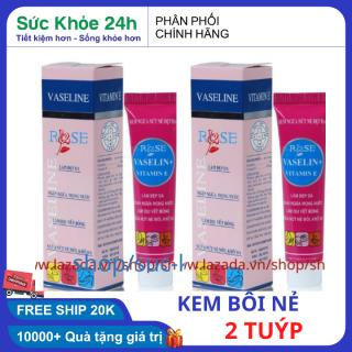Combo 2 Sáp nẻ vaseline dưỡng môi chống nẻ da Hàng Việt Nam Chất Lượng Cao- sức khỏe 24h thumbnail