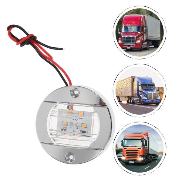 Bảng giá Ouruola【Ready Stock】4pcs 12V Steering Lamp LED Truck Side Light Warning Light Signal Lamp Car Parts