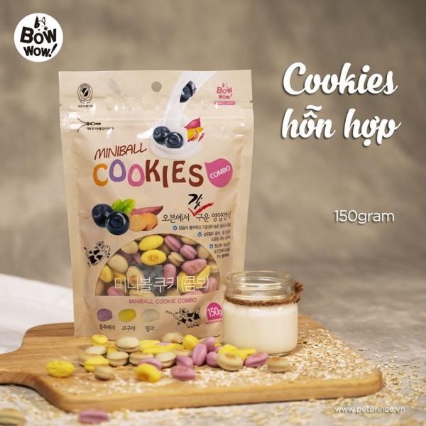 Bánh cookie hỗn hợp dành cho chó mèo cam kết sản phẩm đúng mô tả chất lượng đảm bảo an toàn đến sức khỏe thú cưng của bạn
