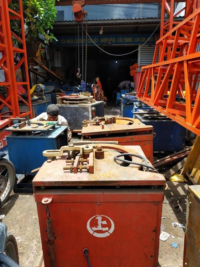 máy uốn sắt xây dưng