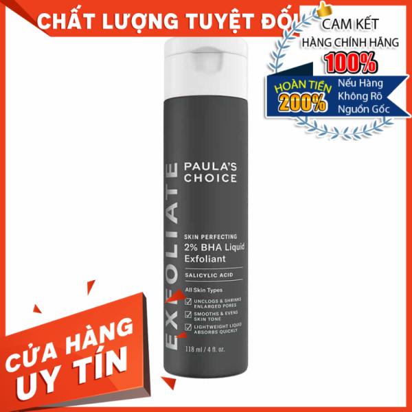 [HÀNG NHẬP KHẨU] Dung dịch loại bỏ tế bào chết 2% BHA Paulas Choice Skin Perfecting 2% BHA Liquid Exfoliant 118ml - 2010