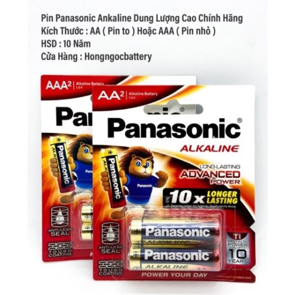 Pin AA/AAA Panasonic Ankaline Vỉ 2 Viên