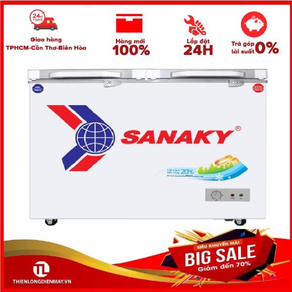 Tủ đông Sanaky VH-4099A2K - 1 NGĂN ĐÔNG,2 CÁNH MỞ,320 LÍT