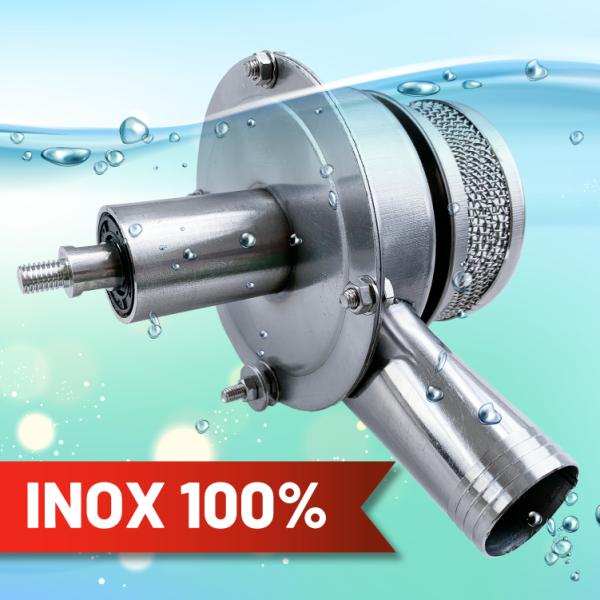 Sên Bơm Nước INOX Lắp Máy Cắt Cỏ và Máy Khoan Tay