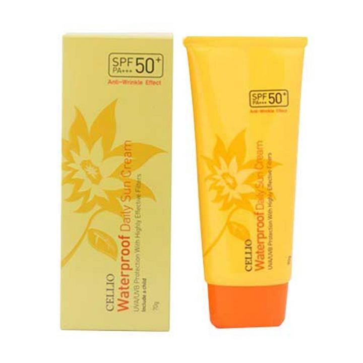 Kem chống nắng Cellio Waterproof Daily Sun Cream 70G tốt nhất