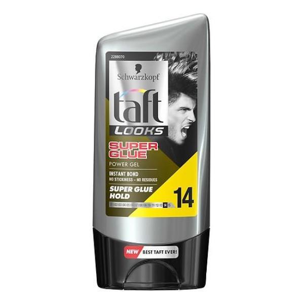 Gel Giữ Nếp Tóc Schwarzkopf Taft Super Glue Hold (150ml) giá rẻ